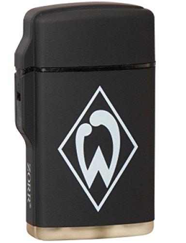 Feuerzeug Rubber Laser schwarz SV WERDER BREMEN
