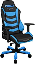 DXRacer Gaming Chair Iron Series Black and Blue, GC-I166-NB-S2