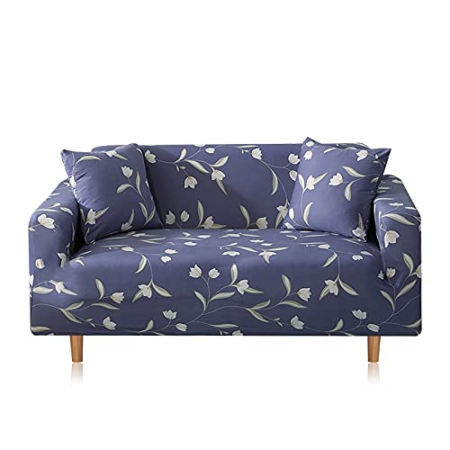 WXQY Funda de sofá de Spandex elástica Bien Envuelta Funda de sofá con Todo Incluido Funda de sofá Modular Funda de sofá de Esquina A17 3 plazas