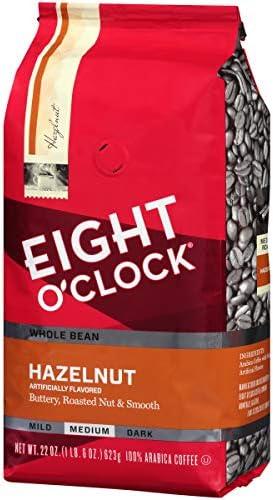 Eight O Clock Whole Bean Coffee Hazelnut 22 Ounce product image