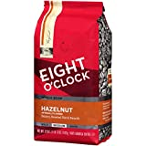 Eight O'Clock Whole Bean Coffee, Hazelnut, 22 Ounce