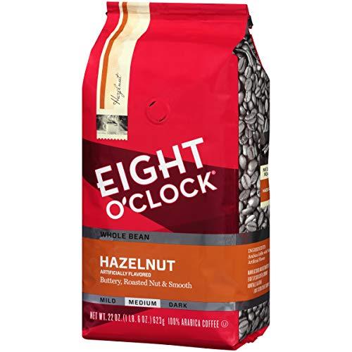Eight O'Clock Hazelnut Whole Bean Coffee