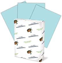 product image for Hammermill Colored Paper, 24 lb Blue Printer Paper, 8.5 x 11-1 Ream (500 Sheets) - Made in the USA, Pastel Paper