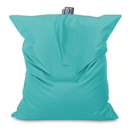 HAPPERS Puff Gigante XXL Polipiel Outdoor Turquesa