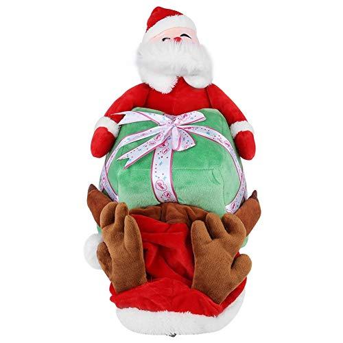 Nikou Huisdier Kerst Kostuum - Huisdier Hond Kat Kerst Kerstman Kostuum Grappig Dier Puppy Fleece Outfits Warm Jas Winter Festival Kleding Kleding Kleding