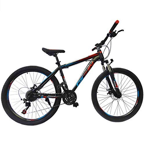 YUEBM Mountain Bike Outdoor Sports, Exercise Fitness,Variable Speed 26 Inches Cycling Sports Mountain Bikes Suitable for Men and Women Cycling Enthusiasts (WBlue)