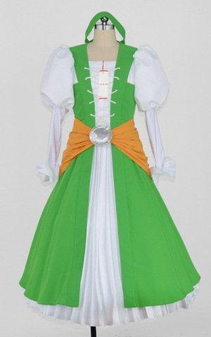 ドラゴンクエストXI(ドラクエ11) セーニャ パニエ付き コスプレ衣装 [2088] 男性M