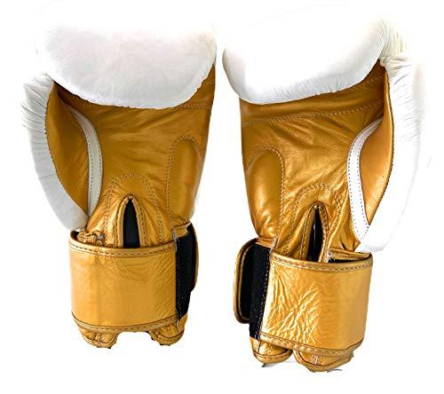 Gants de boxe sans marque Sport Sparring Sac de travail Premium 100% cuir véritable Hommes Femmes Pads de travail