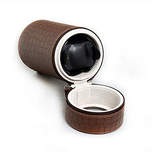 JYTFZD HAOYANG-Caja de Reloj- Relojes Automatic Watch Bander Box, Motor silencioso Batería con Motor y Adaptador de CA para Casi Todos los Relojes mecánicos Single Watch con 3 Mode/HDDSBYBQ-658