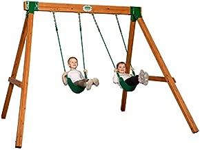 Backyard Discovery Heavy Duty Durango Wooden Swing Set