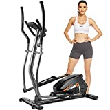 FUNMILY Elliptical Machine for Home Use, Cardio Cross Trainer with 10 Level Magnetic Resistance, LCD...