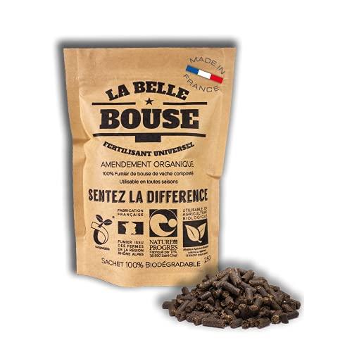 La Belle Bouse | Fertilisant Universel 250g | Naturel & Bio | Fabriqué en France | Convient à Toutes Les Plantes
