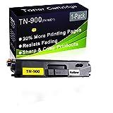 Cartuccia toner compatibile HL-L9200 HL-L9300 (alta capacità) per stampante laser Brother TN-900 (TN-900Y), confezione da 1 (giallo)