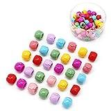 VIccoo 30 Unidades/Caja Coreana Sweet Girls Rainbow Garras de Pelo de Color Mini Plástico Congelado Flor Guisantes Horquilla Clip Trenzado Accesorios para el Cabello - A#