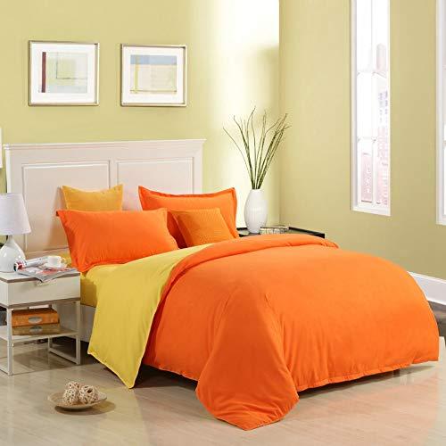 ANSDJNSK Solstice Textile Solid Color 3 Pcs Bedding Set Microfiber Bedclothes Navy Blue Duvet Cover Set Pillowcase