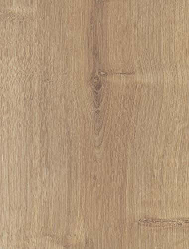 moderna Laminat Bodenbelag Eiche natur | Turko impression Klick Bodenbelag in Holzoptik | Laminatdielen 7mm stark im Format 198x1288mm | Lieferumfang 3,06qm