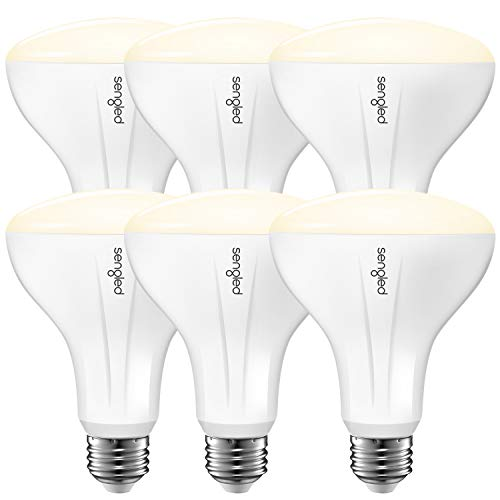 Sengled Smart Light Bulb Works with Alexa Google Home, Dimmable BR30 LED Bulb Soft White 2700K, E26 Recessed Light Bulb 65 Watt, Hub Required Energy Efficient 2.4G and 5G UL-Listed 650LM Indoor 6 Pack