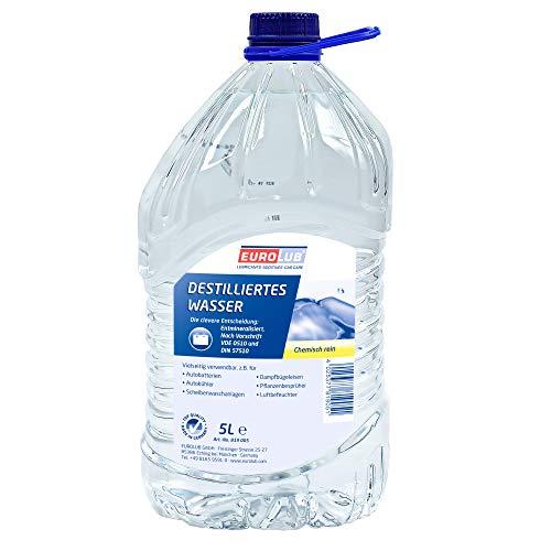 Eurolub Agua destilada, 5 litros