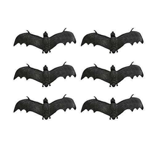 Amosfunpcs Halloween heikle Requisiten gefälschte Fledermaus Simulation Prop für Halloween Aprilscherz Unfug