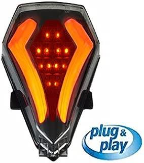 Integrated Led Tail Light Black/Smoke Yamaha R6 YEAR 2008,2009,2010,2011,2012,2013,2014,2015,2016