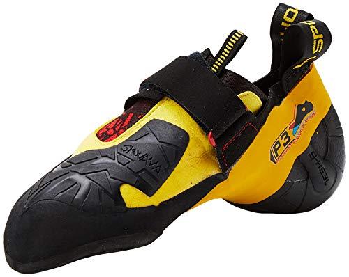 LA SPORTIVA Herren Skwama Black/Yellow Kletterschuhe, 39 EU