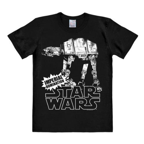 Logoshirt Camiseta AT-AT - Camiseta La Guerra de Las Galaxias - Star...
