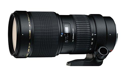 Tamron A001E 70-200/2.8 DI LD Macro - Objetivo para Canon (Distancia Focal 70-200 mm, Apertura f/2.8, Zoom óptico 2.8X, diámetro 77 mm), Color Negro