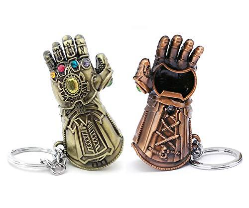 VNFLY Infinity Gauntlet Keychain Bottle Opener Thanos Glove Keychain Bottle Opener Thanos Beer...