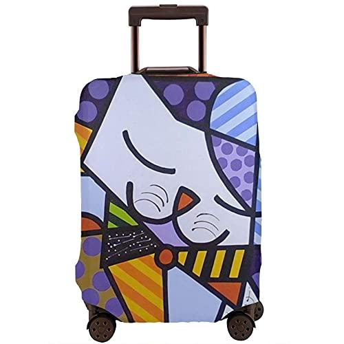 Kinsky Day Romero Britto - Protezioni per valigie da viaggio con cerniera, bianco, 95