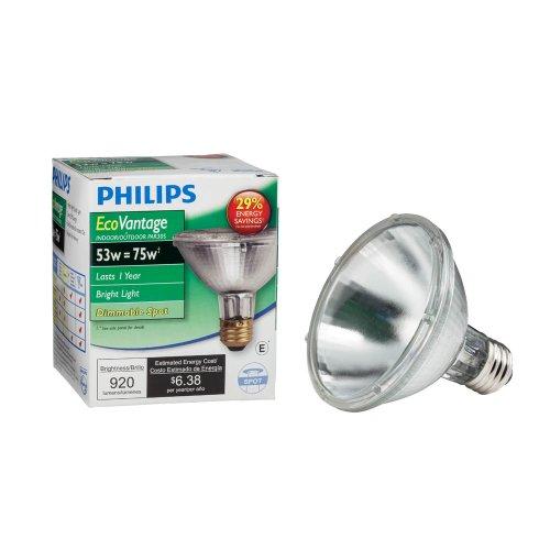 Philips 421123 53-watt PAR30S Dimmable Halogen Spot Light Light Bulb