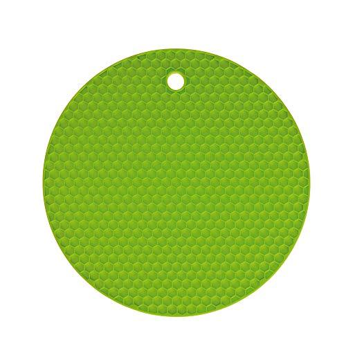 Waben - Untersetzer - Rund - Kochblume Farbe limette
