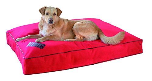 KONG Rechteckiges Hundekissen, 22 x 29 cm, Rot