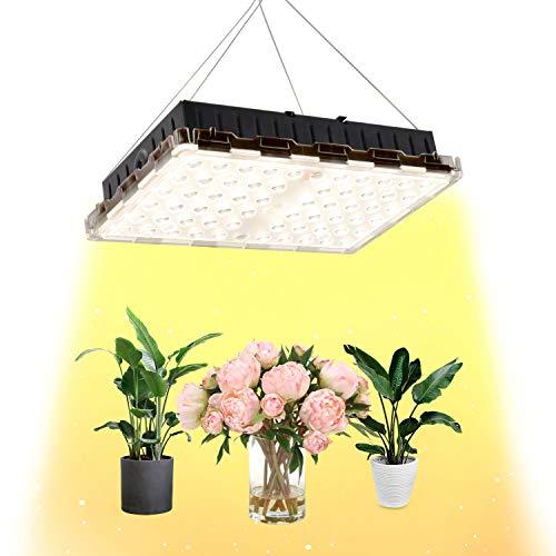 ZSHONORLIGH 植物育成用 水耕栽培ライト フルスペクトル 家庭菜園 野菜工場 日照不足解消 低消耗 水耕温室植物成長ランプ (300W)