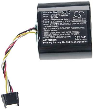 vhbw Batterij compatibel met alle Bradley ControlLogix 1756L55M23 Series A PLC Programmable Logic Controller 14500mAh 36V LiSOCl2