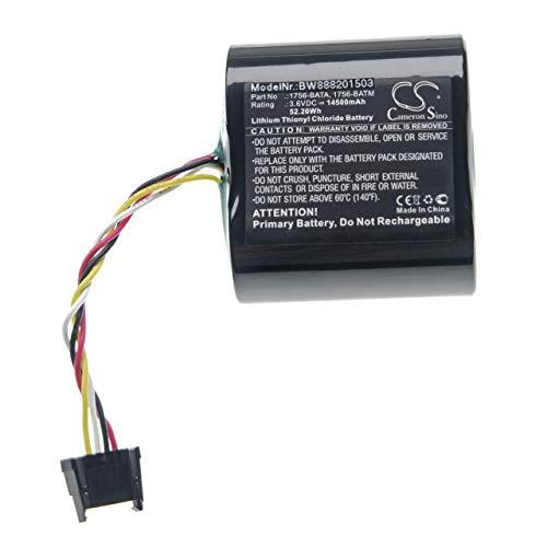 vhbw Batería compatible con Allen Bradley ControlLogix 1756-L55M24 (Series A) Controlador Lógico Programable, PLC (14500mAh, 3,6V, Li-SOCl2)