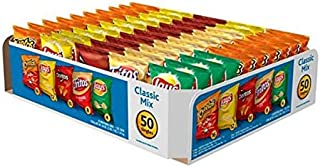 Cheetos    Fritos   Lay's classic flavors - 50 Pack of Individually Wrapped