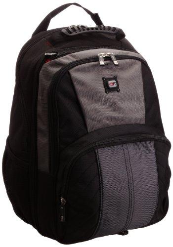 Gino Ferrari Unisex-Erwachsene Astor Laptoptasche GF502, Schwarz/Grau