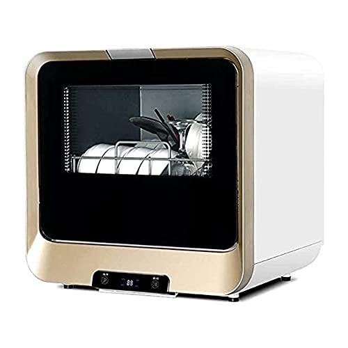 MNSSRN Smart Dishwasher, Tableware Dishwasher, Fast Washing, Drying, Energy Saving, Independent Dishwasher in Apartment Home Kitchen