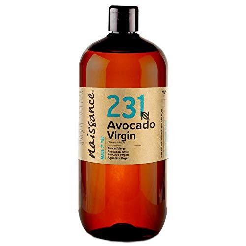 Naissance Aceite Vegetal de Aguacate n. º 231 – 1 Litro - 100% puro,...