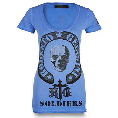T-Shirt Soldier Women Blue S