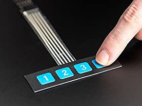 Adafruit Membrane 1x4 Keypad + Extras [ADA1332]