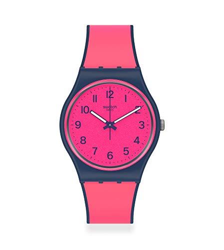 Swatch Reloj Unisex Adulto de Cuarzo analógico con Correa en plástico GN264