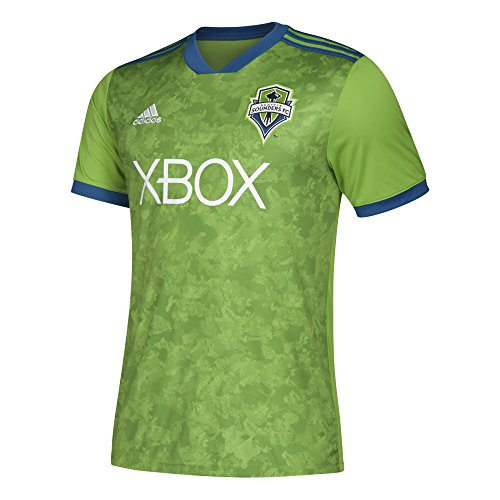 adidas MLS Seattle Sounders Fc 7417ASSQAZNSSF Men's Replica Jersey, XX-Large, Rave Green