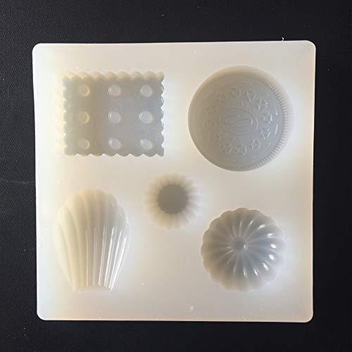 WANGY Molde Galletas DIY Oreo Fondant Molde Shell