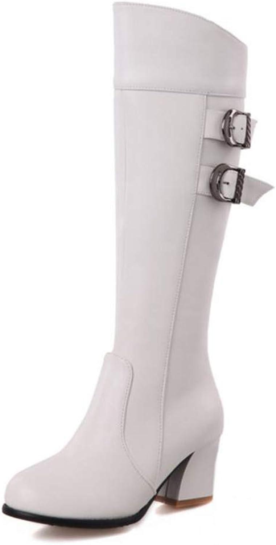CuteFlats Women Knee-High Jack Boots