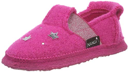 Nanga Unisex - Kinder Unicorn Niedrige Hausschuhe, Pink (Himbeere 27), 32 EU