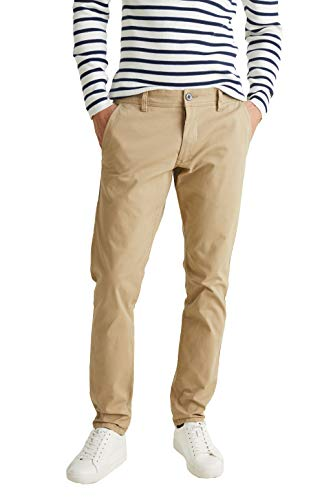 ESPRIT 088ee2b002 Pantalon, Beige (Beige 270), W33/L34 (Taille fabricant: 33/34) Homme
