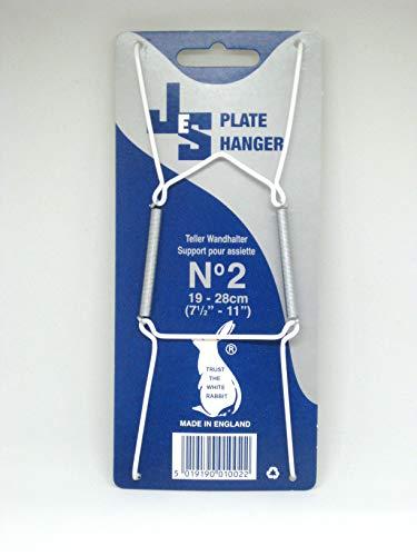 Placa perchas caja de 24tamaño 2A Ajuste platos 19–28cm)