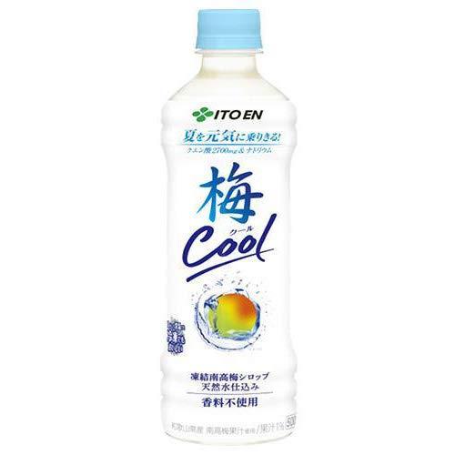 伊藤園 梅クール 500gペットボトル×24本入×(2ケース)