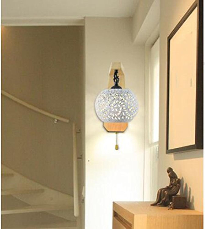 Einzelzimmer Wohnzimmer Moderne Nachttischlampe Schlafzimmer Wandleuchte (gre   25  15cm)